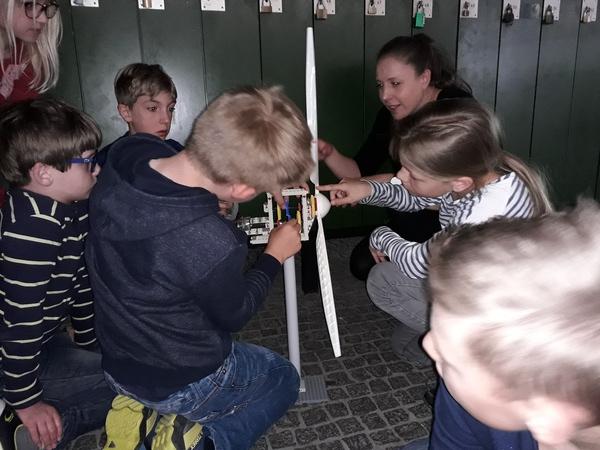 Besuch in der Lernwerkstatt