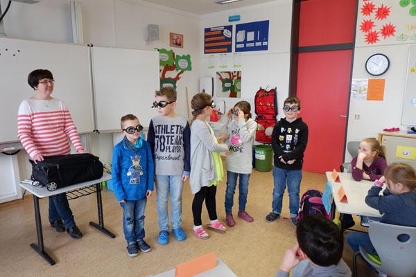Besuch des Blindenbundes Oberpfalz