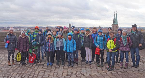 Besuch der Kaiserburg in Nürnberg
