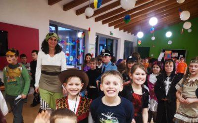 Schulfest in der Faschingszeit